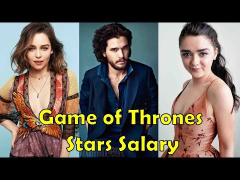Game Of Thrones Stars Salary - 2017