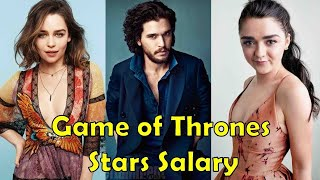 Game Of Thrones Stars Salary - 2019