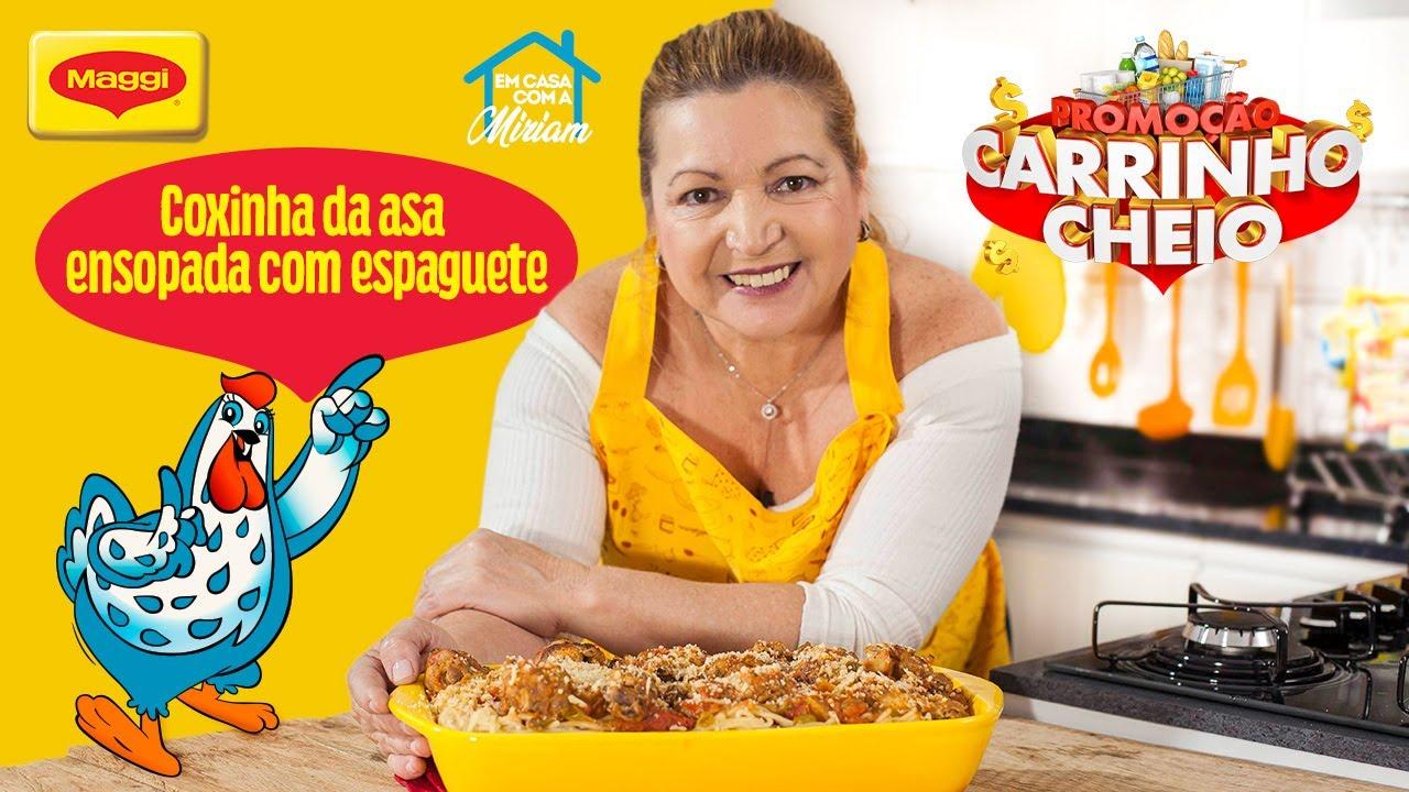 Coxinha da Asa Ensopada com Espaguete - Receitas Nestlé Em Casa