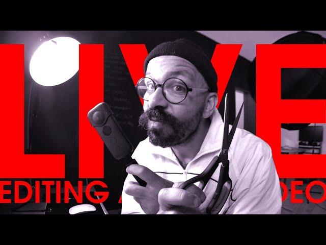 EDITING A INSTA 360 SKATE VIDEO LIVE