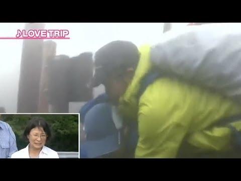 脳性マヒ 富士山登山させられてる少年 ぶん殴られる?