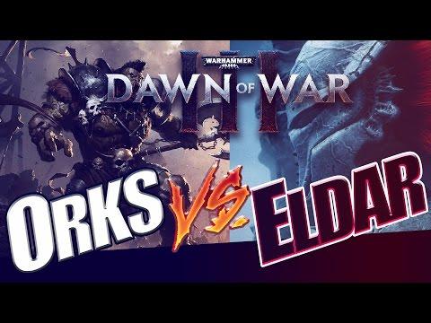 Dawn of War 3 - 1v1 MACHA DESTROYS MY ARMY :(  (no commentary)