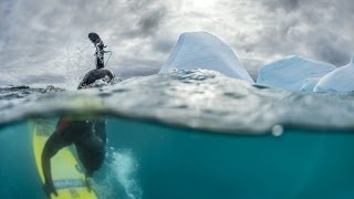 The cold, hard edge of surfing - Red Bull Surfing Antarctica