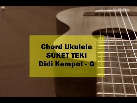 Tutorial Chord Kunci Gitar Suket Teki dari G - Didi Kempot, Via Vallen, NDX AKA