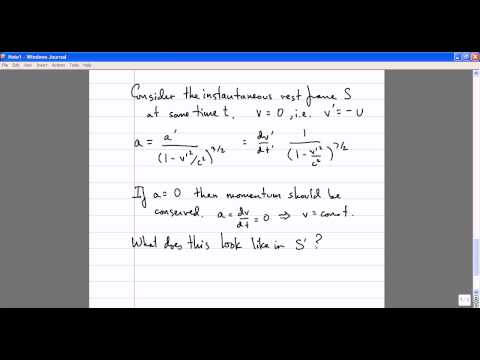 Modern Physics, Lecture 12: Relativistic Kinematics. Energy and Momentum.