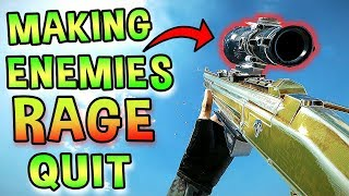 Using the new BOSG ACOG to make enemies rage quit in Rainbow Six Siege...