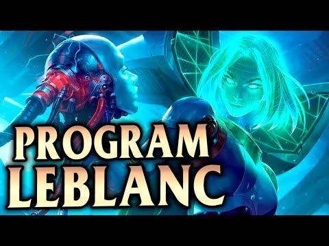 Exclusive Chroma Program LeBlanc Mid! NON-STOP OUTPLAYS! - League of Legends S9 thumbnail