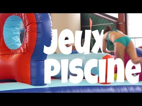 Jeux gonflables la piscine de villard de lans youtube for Piscine villard de lans