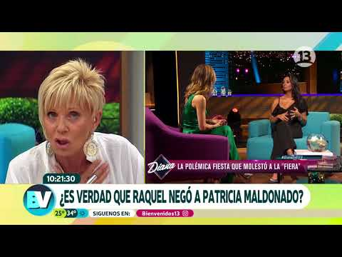 Raquel habló de su relación con Pamela Díaz | Bienvenidos