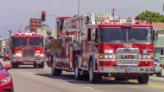 LAFD Task Force 66 & Engine 57