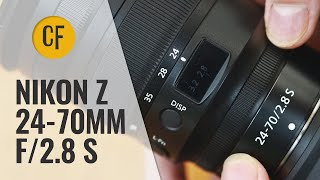 Nikon Z 24-70mm f/2.8 S lens review with samples