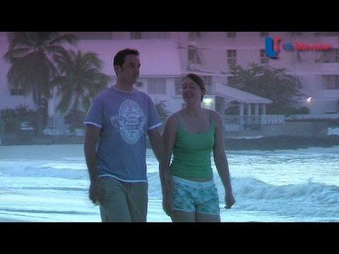 US Television - Barbados (Coral Mist Beach Hotel)
