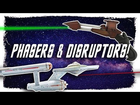 Tech Lore : Phasers, Disruptors and Cannons... Oh My!