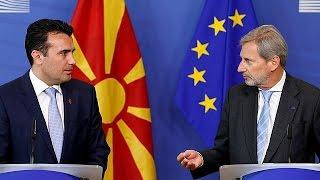 Makedonya AB'ye tam üyelik istiyor