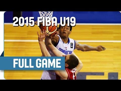 Dominican Republic v Serbia - Group D - Full Game - 2015 FIBA U19 World Championship
