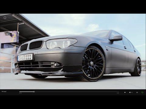 BMW 745i V8 E65 Matte Grey 20 Wheels Walkaround Carporn