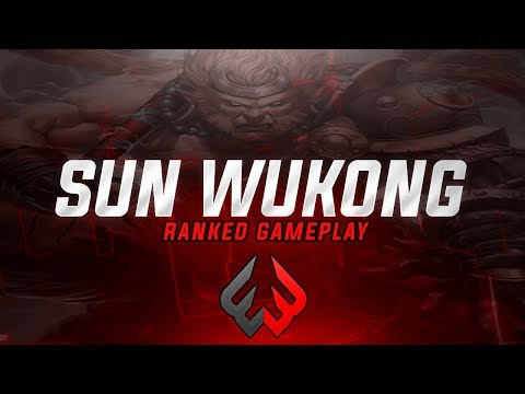 Sun Wukong: I HATE THIS LANE SO MUCH - Smite