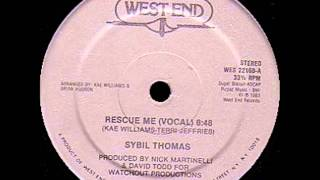 SYBIL THOMAS - rescue me (vocal) 83