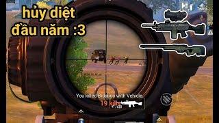 PUBG Mobile - Bổ Mắt Với M249 + Scope 6x Không Zoom | Combo Hủy Diệt Map Đầu Năm Mới