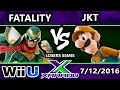 S@X 158 - TA | Fatality (Captain Falcon) Vs. DA | JKT (Luigi) SSB4 Losers Semis - Smash Wii U
