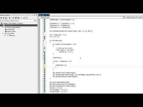 SDL 2 Made Easy Tutorial 14 - Sprite Animation