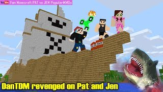 DanTDM revenged on Pat and Jen in Pirates of the Caribbean 5 - Minecraft mods PopularMMOs