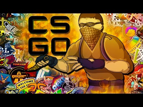 CSGO - Amazing Kill Through Smoke!  (Counter Strike: Funny Moments!)