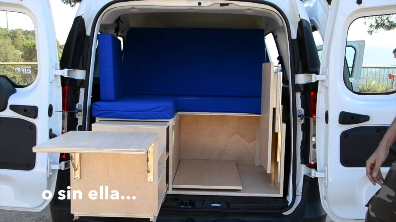 Modboot mod little frago m dulo camper extra ble y sin homologaci n version acelerada youtube - Medidas interiores furgonetas ...