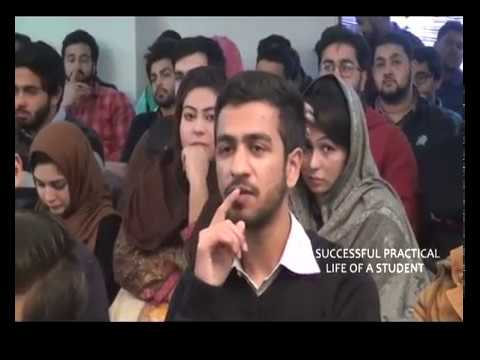 Topic: SUCCESSFUL PRACTICAL LIFE OF A STUDENT, Speaker: Kashif Mehmood ELC Sialkot , Pakistan