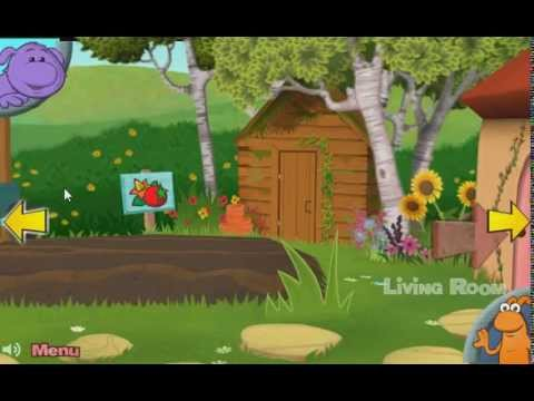 Cbeebies Explore Big And Small House Game Vegetable Patch