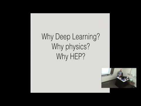 Applications of Deep Learning to High Energy Physics- Lecture 1