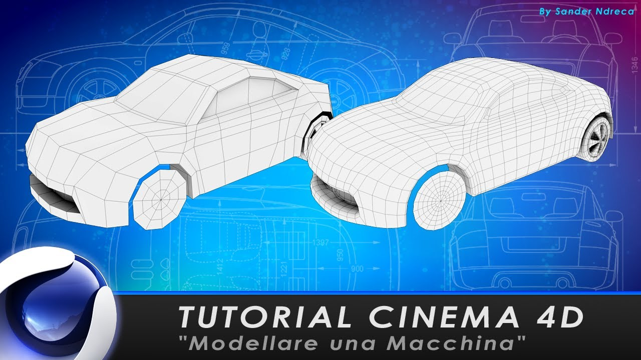 Tutorial cinema 4d modellare una macchina youtube malvernweather Choice Image