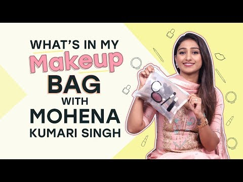 What's in my makeup bag ft. Mohena Kumari Singh | Fashion | Pinkvilla | Television | Beauty