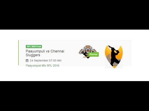 SPL 2016 Final Match