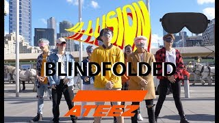 [KPOP IN PUBLIC] ATEEZ - 'ILLUSION' by O4A BLINDFOLD VER. from Australia