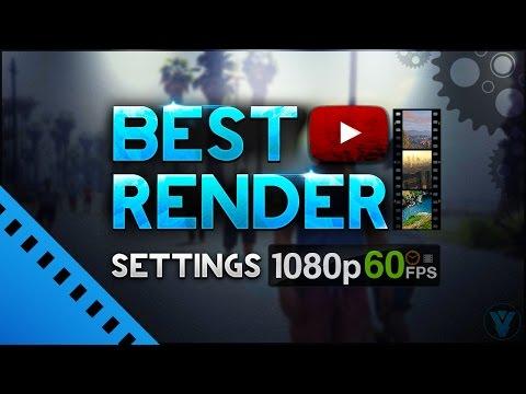 Sony Vegas Pro 14: Best Render Settings 1080p 60FPS (Sony Vegas MP4 Tutorial)