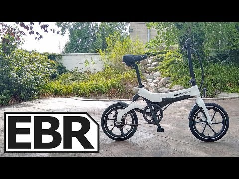 JupiterBike Discovery Review - $1.3k Small Folding Ebike, FAA Flying Approved