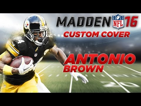 Custom Madden NFL 16 Cover - Speed Art | Antonio Brown
