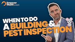 How to.. When to do a Building and Pest Inspection? Buyers Advocate Tips Bryce Holdaway