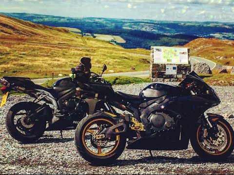 Motorcycle Tours UK. The Black Mountains
