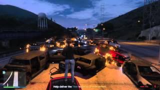 GTA V BIGGEST EXPLOSION EVER