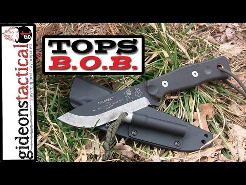 TOPS KNIVES BOB Fieldcraft Knife Review: Come Get Some!