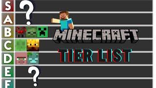 Minecraft Mob Tier List 1.16 - MINECRAFT TIER LIST