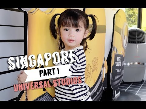 Singapore Part 1 + Universal Studios   Andi Manzano Reyes