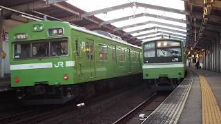 JR西日本103系NS617編成61A‐312K快速奈良 関西本線最後の103系ラストラン