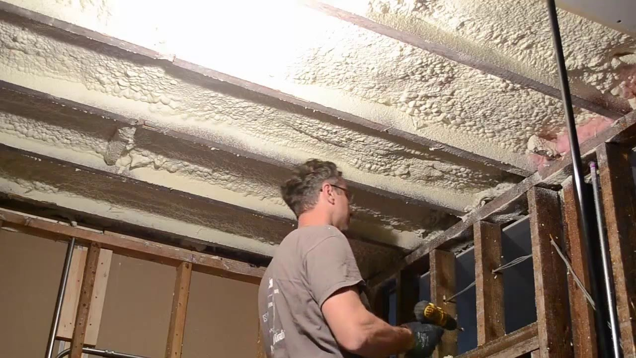 How to hang drywall on a ceiling - How To Hang Drywall On The Ceiling By Yourself