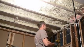 how to hang drywall on the ceiling by yourself