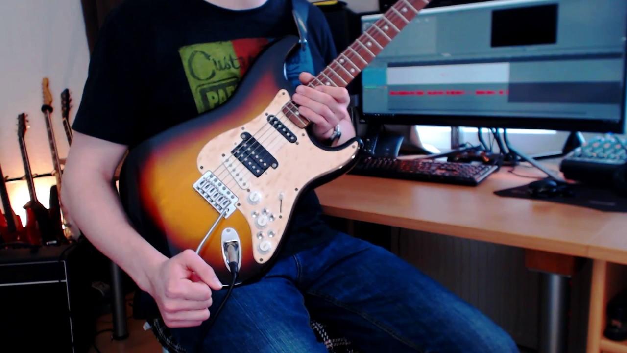 SHS Strat und verrückte Schaltungen: Guitar Mods #1 - YouTube