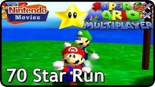Super Mario 64 Multiplayer - 70 Star Speedrun