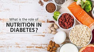 What is the role of nutrition in diabetes ? | Nutrition for Diabetes | Dr Velumani |
